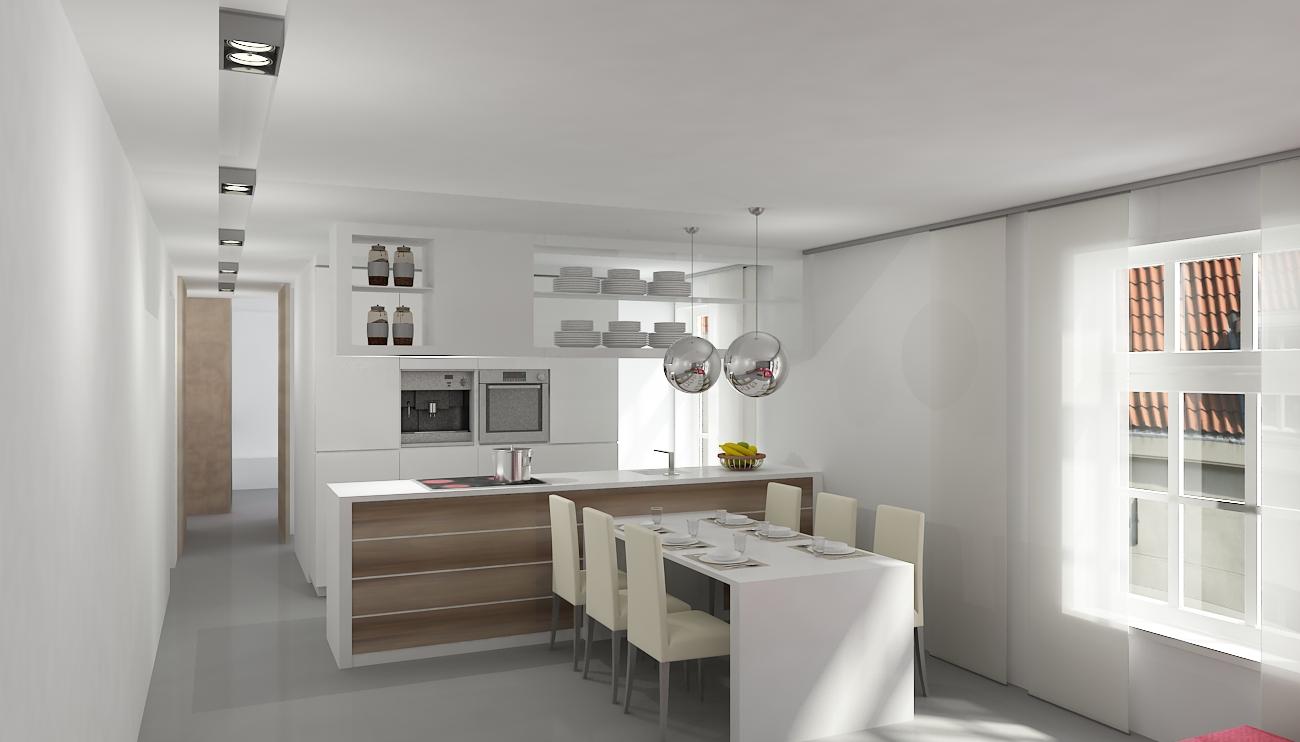 Portfolio aannemer gorinchem - Credence keuken wit ...